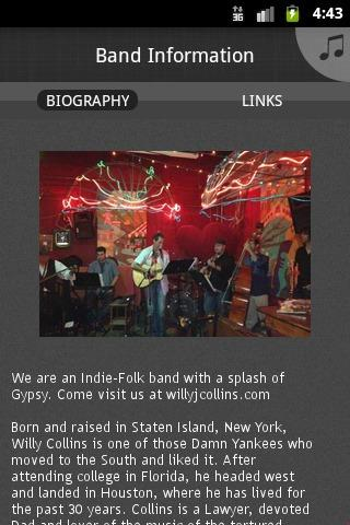 The Willy Collins Band - screenshot