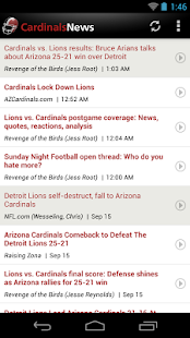 Cardinals News (NFL) - screenshot thumbnail