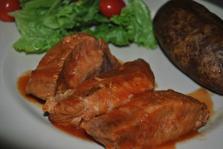 Slow Cooker Barbecued Boneless Beef Ribs Recipe