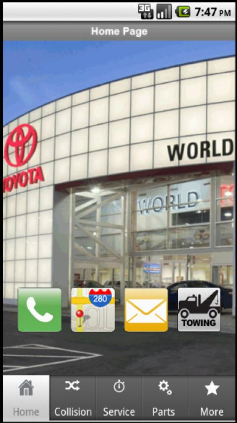 World Toyota - screenshot