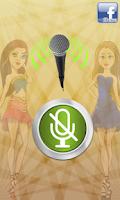 Screenshot of Girls Voice Changer