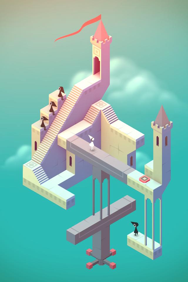 Monument Valley screenshot #1