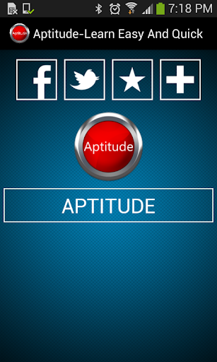 Aptitude-Learn Easy And Quick