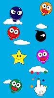 Screenshot of Pop Smiley Balloons