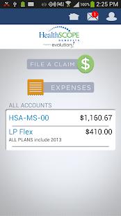 HealthSCOPE Benefits Mobile - screenshot thumbnail