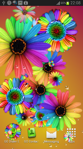玩免費個人化APP|下載Flowers LWP Pro app不用錢|硬是要APP