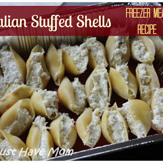 Italian Stuffed Shells Freezer Meal