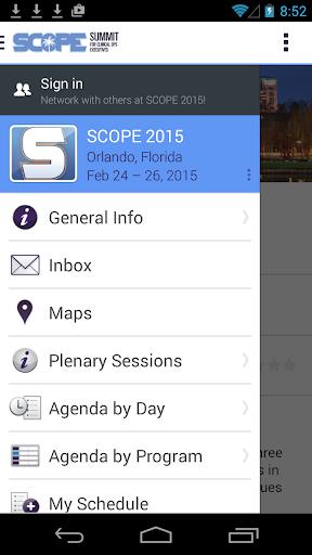 SCOPE Summit 2015