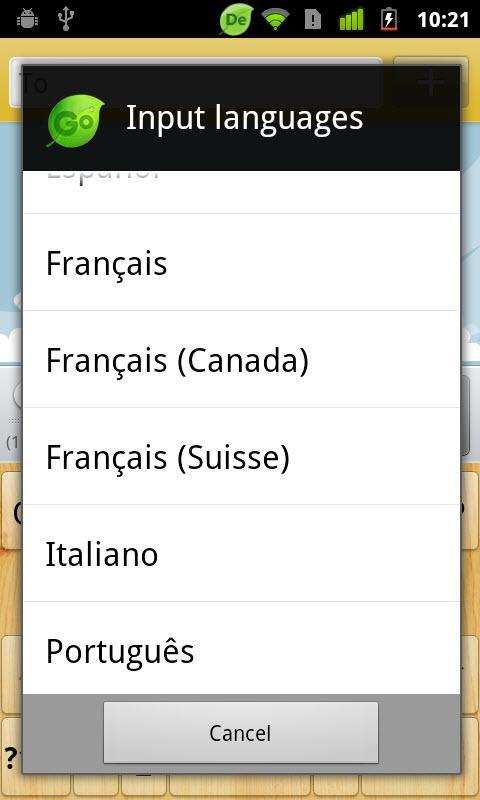 Georgian for GO Keyboard-Emoji screenshot #5