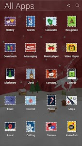 Christmas Letter atom theme screenshot 2