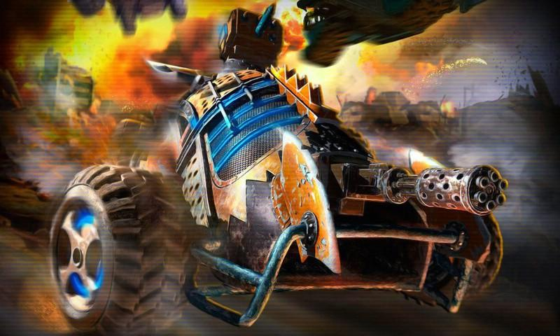 Death racing: Road Killer- screenshot