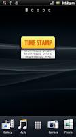 Screenshot of Time stamp