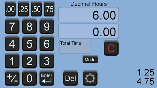 driver time calculator free screenshot