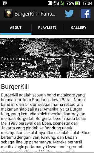 BurgerKill Unofficial