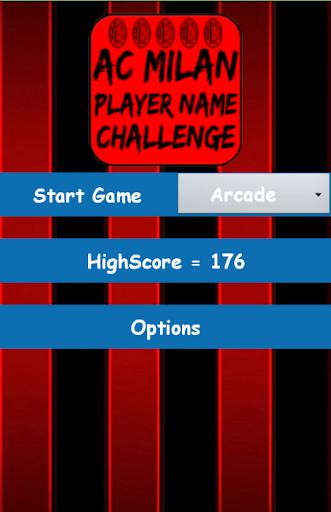 AC Milan Player Name Challenge
