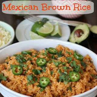 Mexican Rice made with Brown Rice