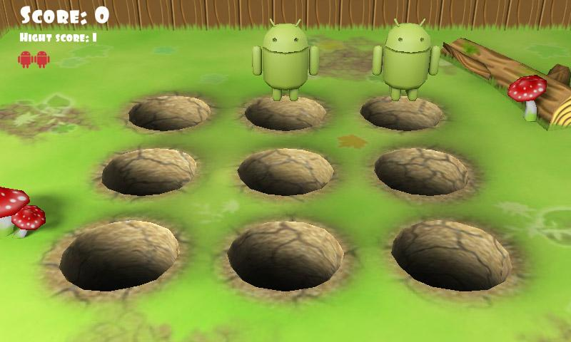 Whack Droid 3D- screenshot