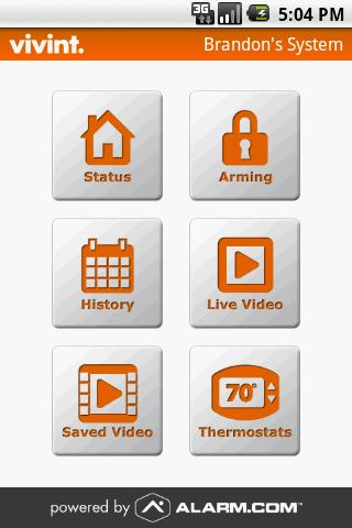 Vivint - screenshot