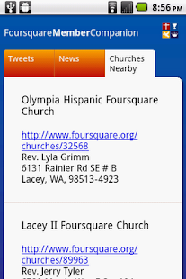 Foursquare Church- screenshot thumbnail