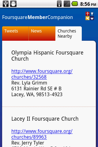 Foursquare Church- screenshot
