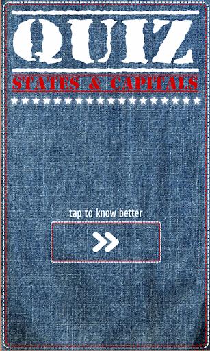 QUIZ States Capitals