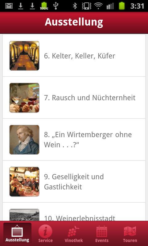 Weinbaumuseum Stuttgart- screenshot
