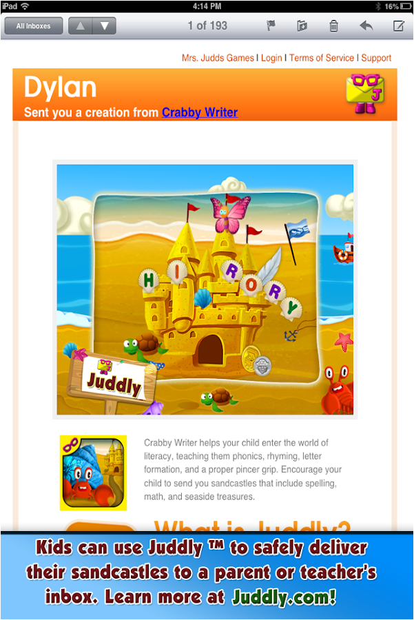 CRABBY WRITER -read/write FREE- screenshot