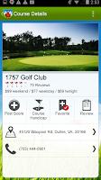 Screenshot of Diablo Golf Handicap Tracker