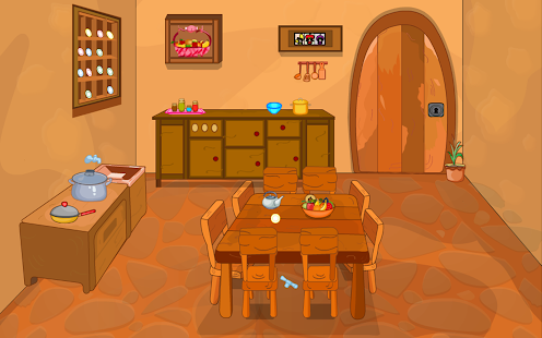 Escape game wooden dining room for pc and mac for Llwyn y brain dining room