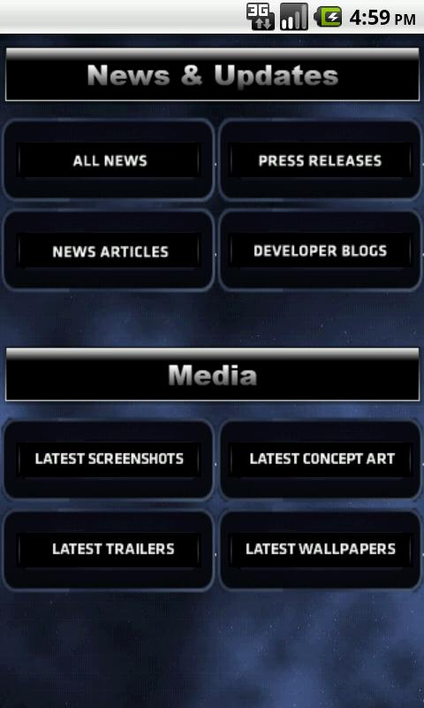SWTOR News Reader - screenshot