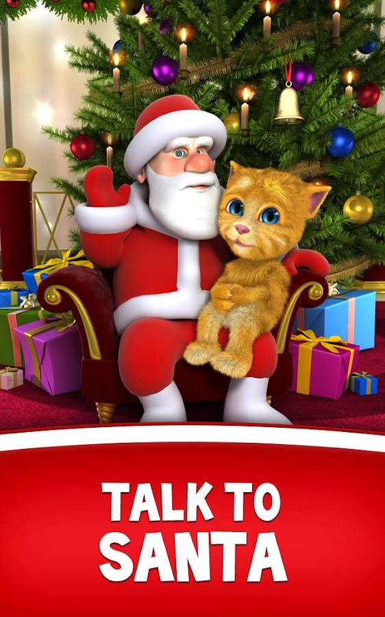 Talking Santa meets Ginger +- screenshot