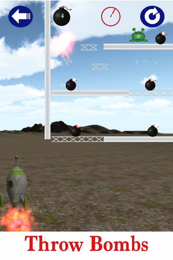 Bombproof Bob Physics Puzzler- screenshot
