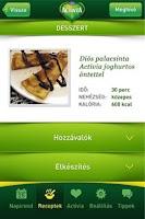 Screenshot of Activia VIP