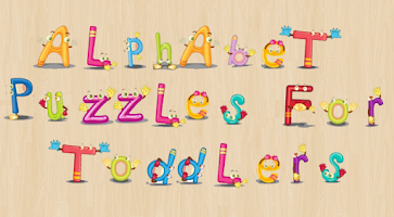 Screenshot of Alphabet Puzzles for Toddlers!