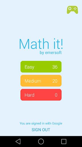 Math it - Logic Game