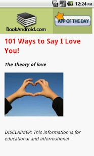 101 Ways to Say I Love You- screenshot thumbnail