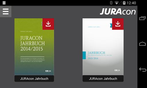JURAcon Jahrbuch