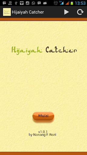 Hijaiyah Catcher