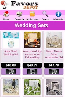 Wedding Favors Depot - screenshot thumbnail