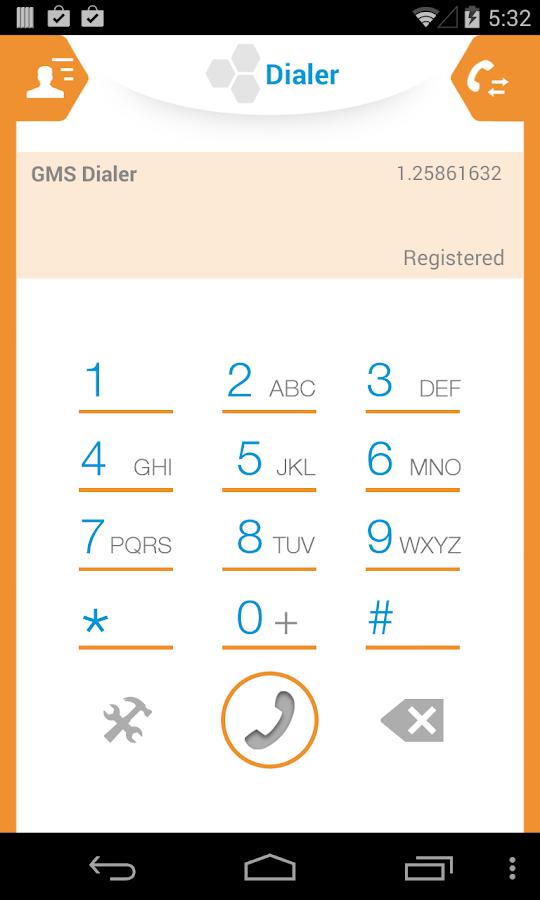 GMS Dialer - screenshot