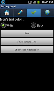 Sofodroid Battery Level- screenshot thumbnail