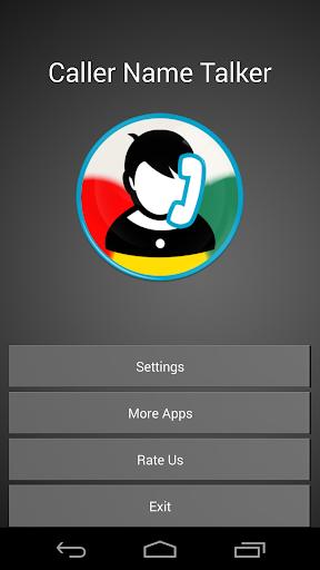 玩免費生活APP|下載発信者名スピーカー app不用錢|硬是要APP