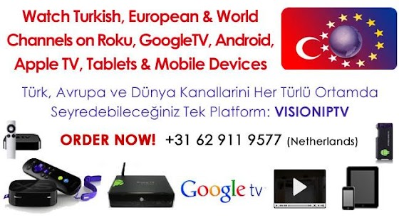 VisionIPTV for GoogleTV- screenshot thumbnail