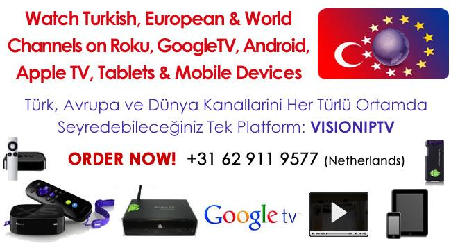 VisionIPTV for GoogleTV - screenshot