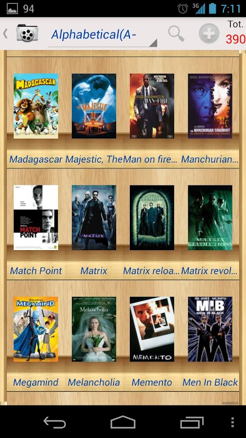 MoviesBook Free - screenshot