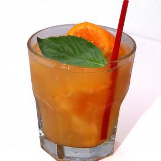 La Mandarina Tequila Cocktail.