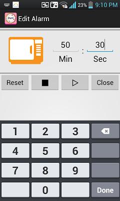 Kitchen Timer (Multiple Alarm) - screenshot