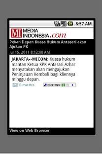 Media Indonesia (unofficial) - screenshot thumbnail