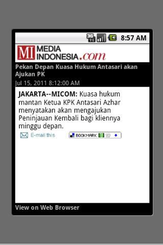 Media Indonesia (unofficial) - screenshot