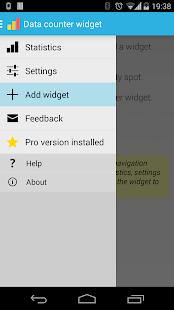Data counter pro |data usage - screenshot thumbnail